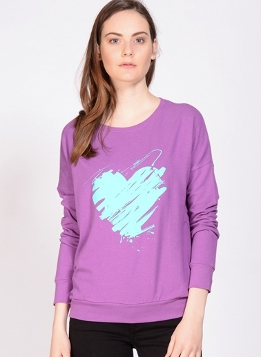 T-Box Sweatshirt Mor